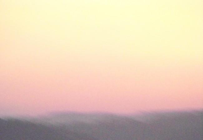 8:17  Acabo de fotografíar el amanecer, porque es ¿el último?, o el penúltimo de este verano…
