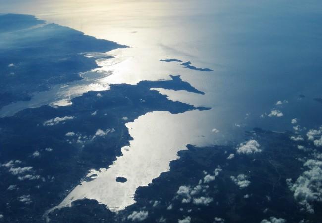 16:56  Rías de Vigo y Pontevedra vistas desde el cielo y fotografíadas por un lector.