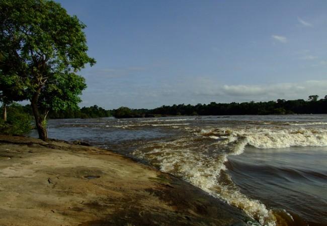 Río Caura, en Venezuela.