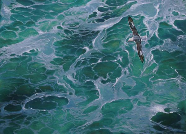 Ha surgido de un instante ocurrido en los mares del Atlántico Norte, en tierras escocesas.  F.J.Hernández