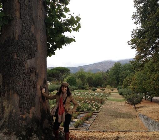 La verdad es que no puedo disimular mi felicidad cuando vuelvo a ponerme las botas para pasear por el campo.  Mónica Fernández-Aceytuno