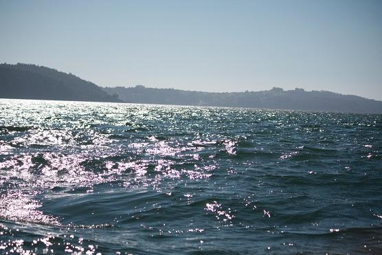 Al salir el sol se ha calmado el viento. Cambia la luz, cambia el viento, algo así me contó hace años un marinero.   Mónica Fernández-Aceytuno