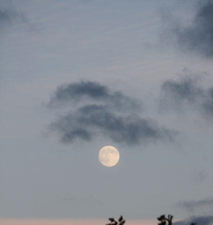 La luna llena de agosto