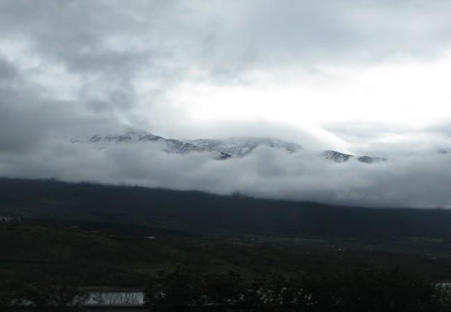 Niebla, nubes y nieve, por Pilar López