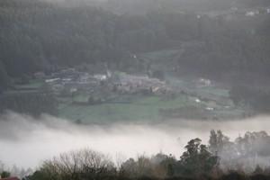 Niebla al amanecer el 27-2-2015