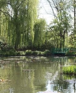 Estanque de la casa de Monet en Giverny / Aceytuno