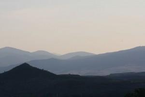 La Rioja al atardecer / Aceytuno