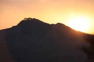 Montes riojanos, ayer al atardecer / Aceytuno