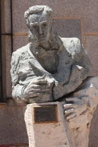 Monumento a Don Mariano de la Paz Graells / Aceytuno, 19-7-2015