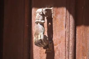Llamador del portón / Aceytuno, 19-7-2015