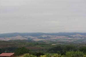 Nubes sobre los montes riojanos el 23-7-2015 / Aceytuno