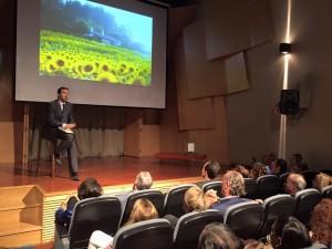 Juan Fernández-Aceytuno durante la presentación