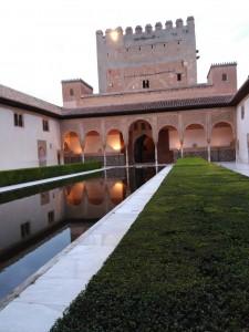 Patio de los arrayanes en la Alhambra / Octubre 2016 / Aceytuno