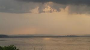 Río Congo durante el atardecer del 19-1-2016 / Aceytuno