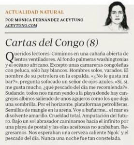 Cartas del Congo (8) / ABC, 27-2-2016