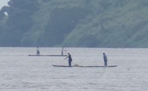 Pescadores de río