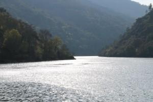 Confluencia del Sil y el Lor en Aguas Mestas / Aceytuno