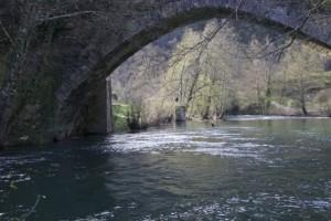 Ponte da Barxa sobre el Lor  / Aceytuno