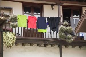 Color en la ropa / Aceytuno