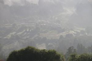 Parte del paisaje que diviso al amanecer desde mi casa / Aceytuno