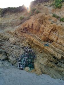 Nasas en las rocas / Aceytuno