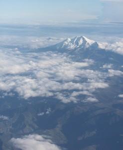Umbrías, como ríos oscuros, de Ecuador, vistas desde el cielo / Aceytuno