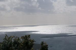 Sombra de las nubes sobre el océano Atlántico/ Aceytuno