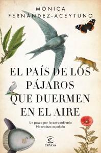 """Portada de """"El país de los pájaros que duermen en el aire"""" / Editorial Espasa / Planeta de los Libros"""