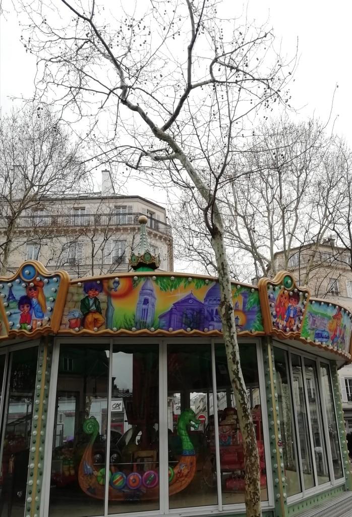 Plaza de les Abbesses, Montmartre, Paris el 4 de marzo de 2019 / Aceytuno